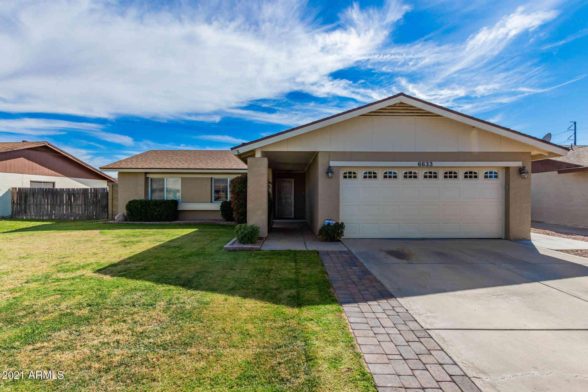 6633 W MERCER Lane, Glendale, AZ, 85304,