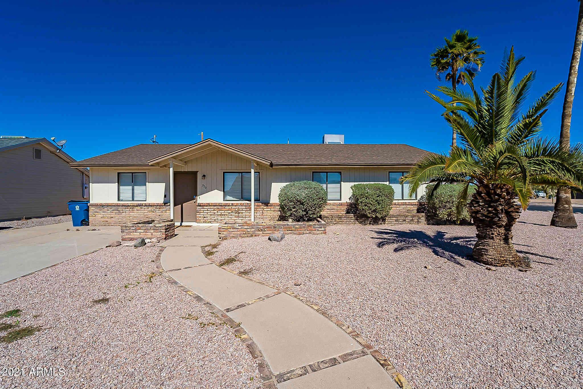 790 E MESQUITE Avenue, Apache Junction, AZ, 85119,