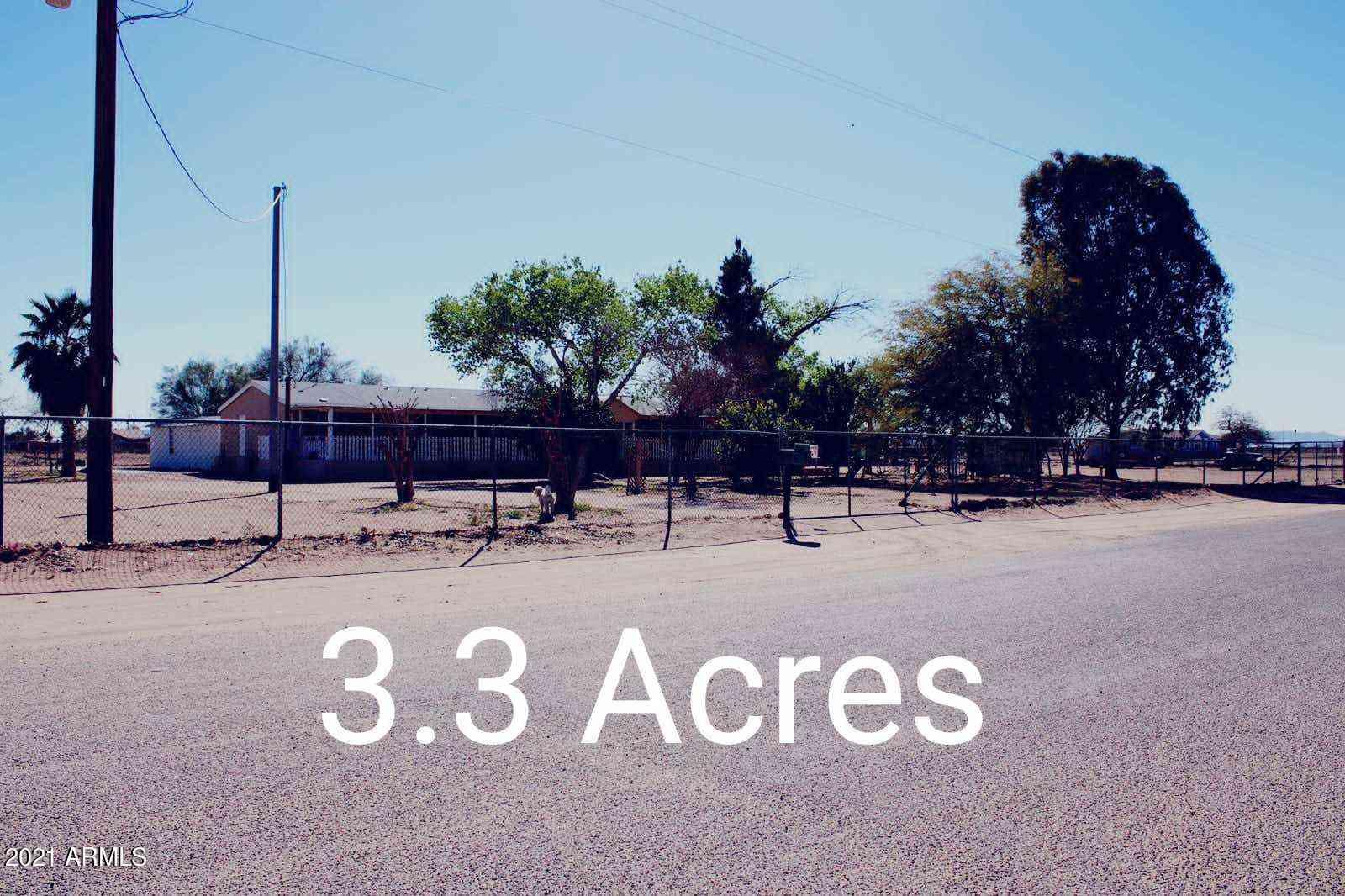 33769 W SIESTA Avenue, Stanfield, AZ, 85172,