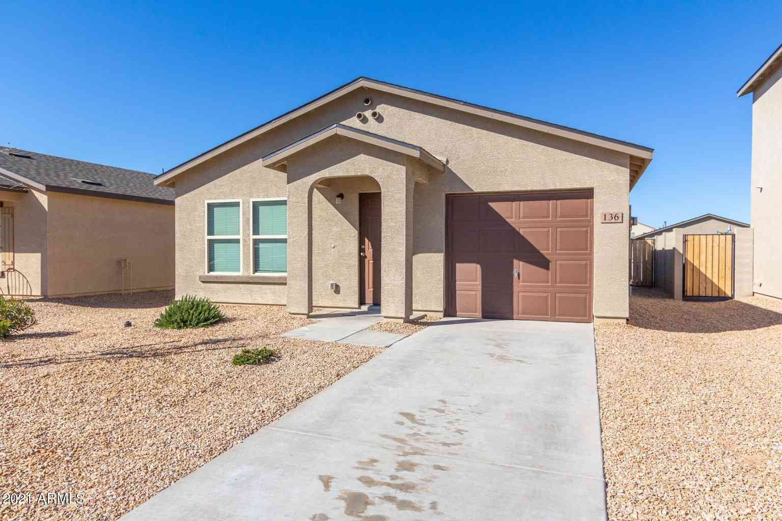 136 E DOUGLAS Avenue, Coolidge, AZ, 85128,