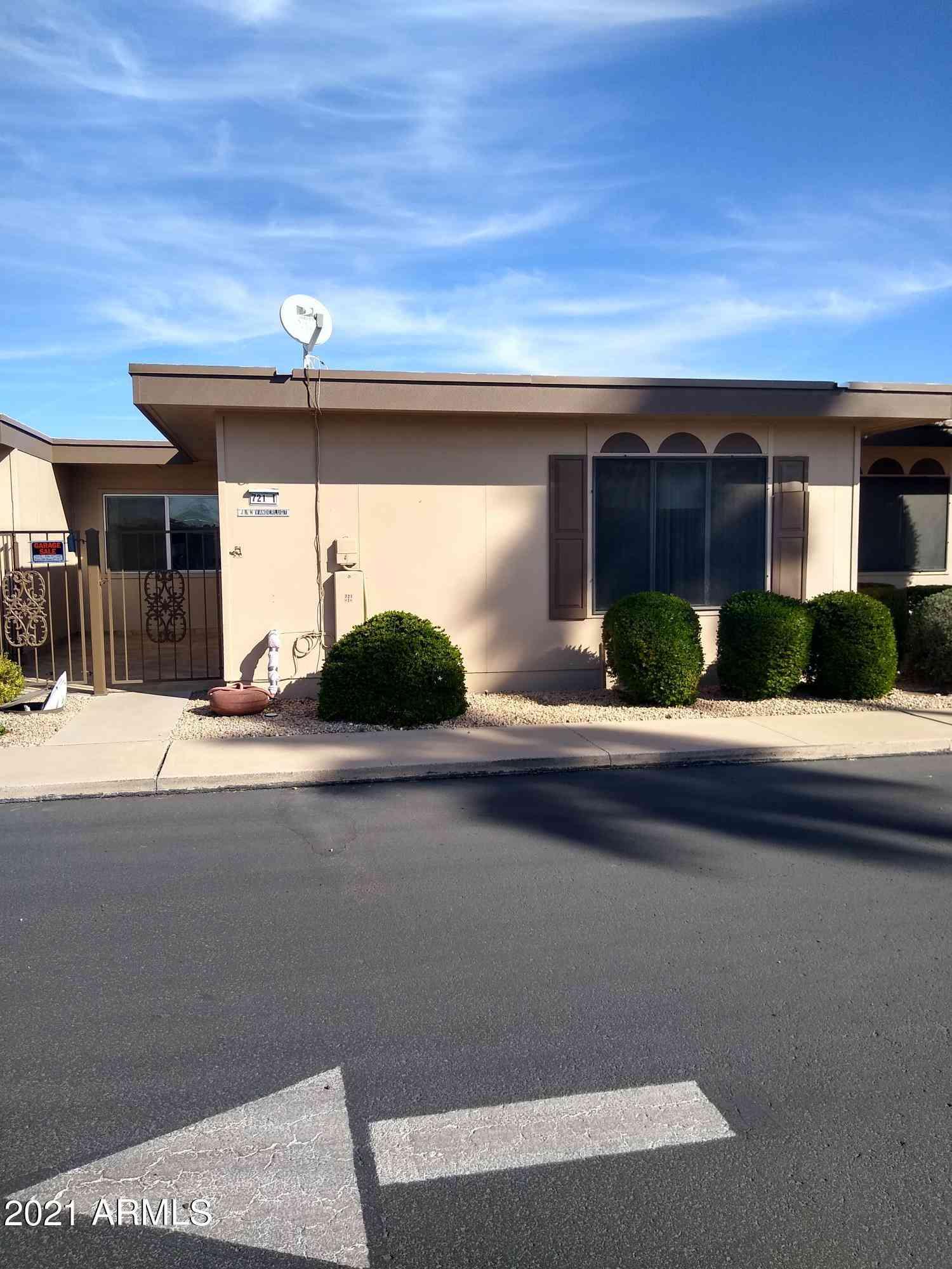 13721 N 98TH Avenue #I, Sun City, AZ, 85351,