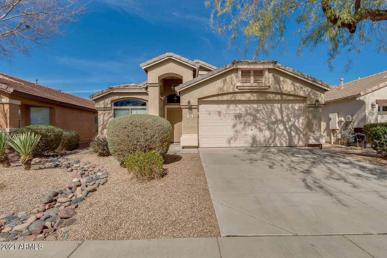 34 W GREY STONE Street, San Tan Valley, AZ, 85143,