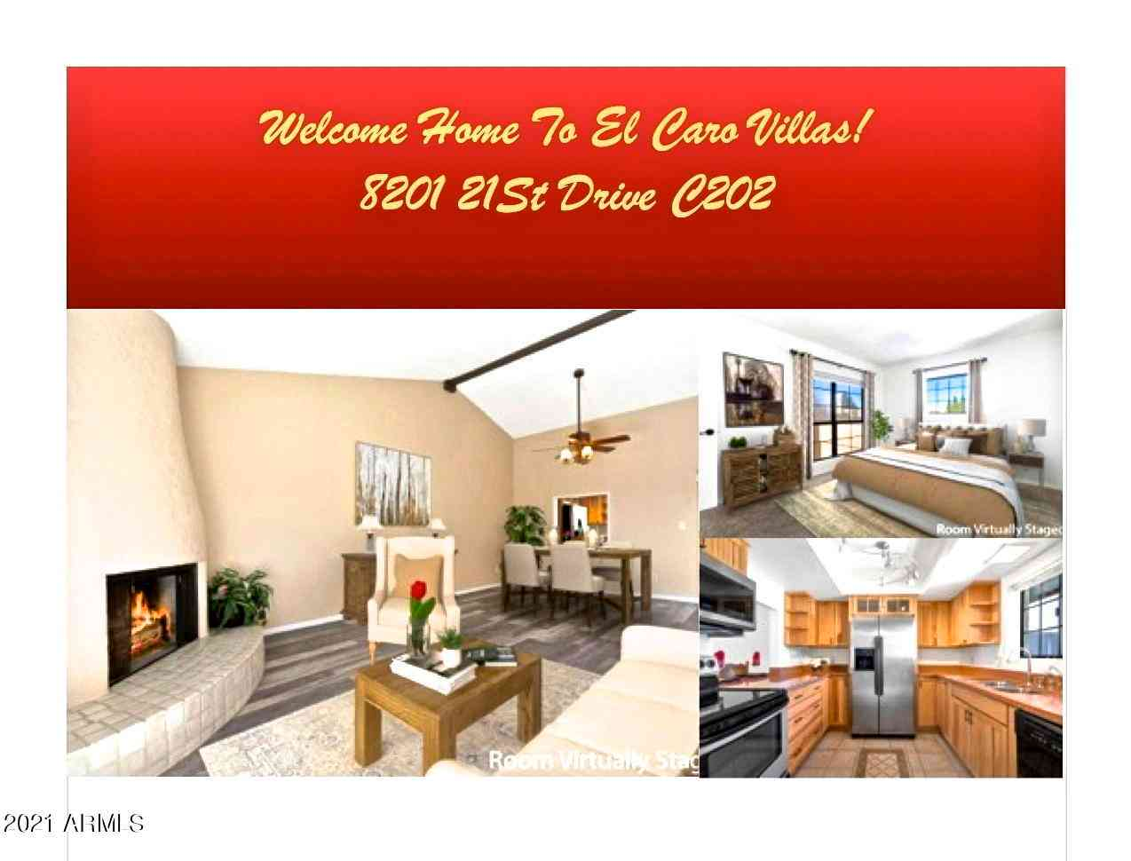 8201 N 21ST Drive #C202, Phoenix, AZ, 85021,