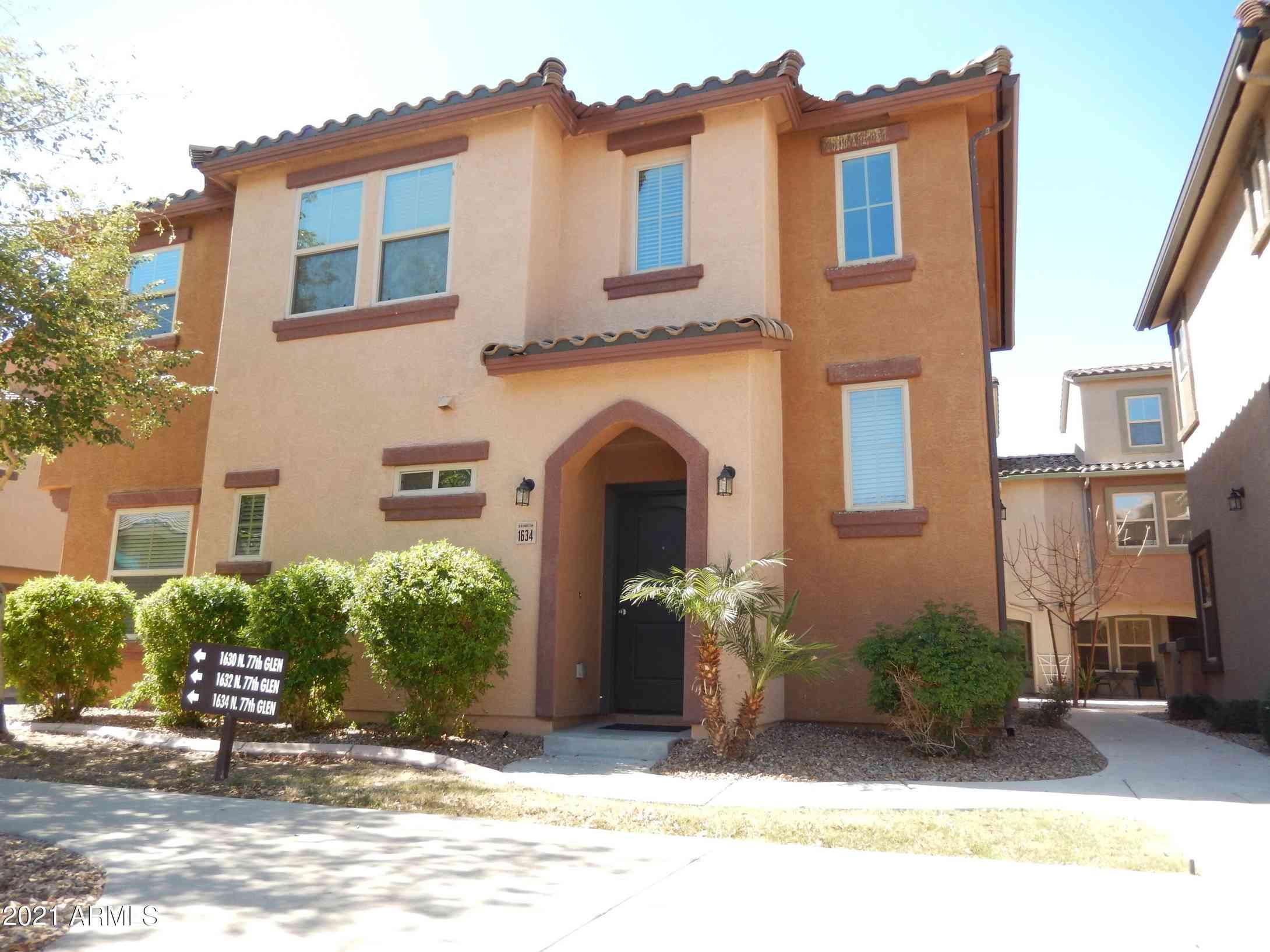 1634 N 77TH Glen, Phoenix, AZ, 85035,
