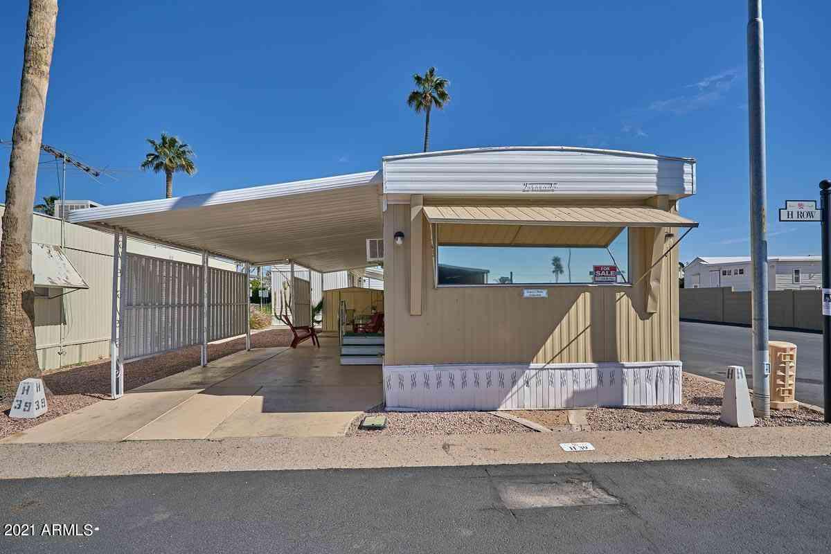 7807 E MAIN Street #H-39, Mesa, AZ, 85207,