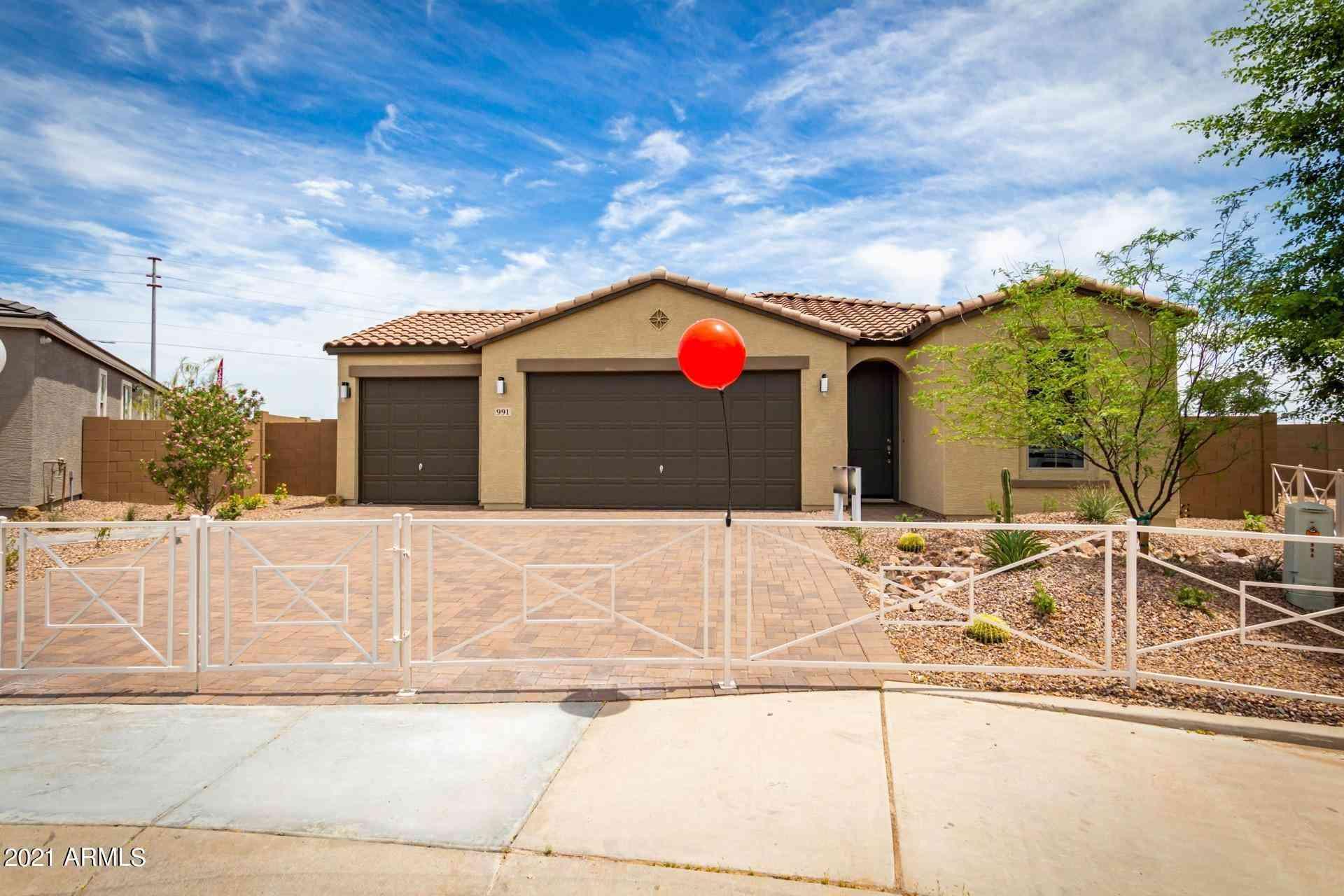 991 S 9TH Place, Coolidge, AZ, 85128,