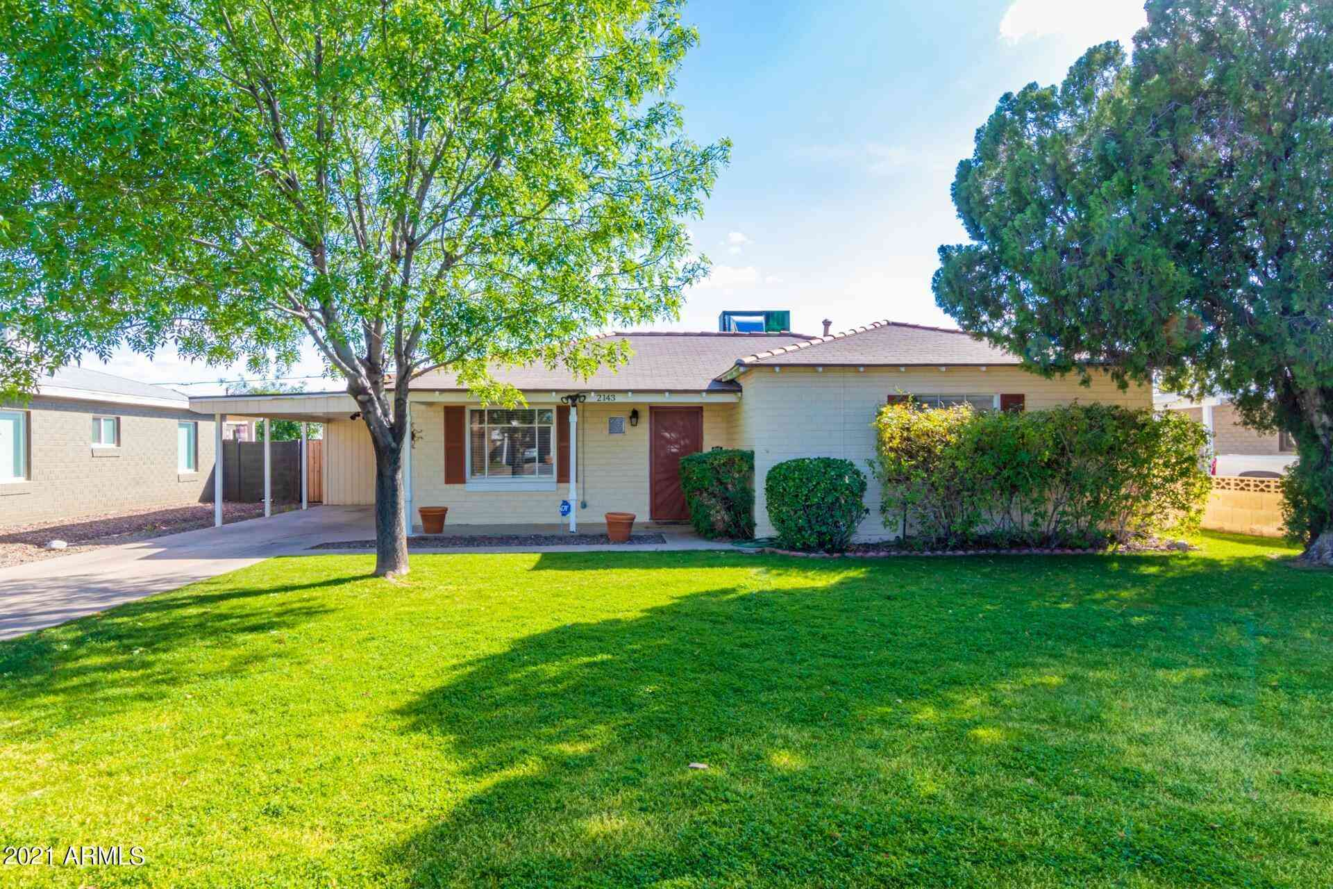 2143 W FLOWER Street, Phoenix, AZ, 85015,