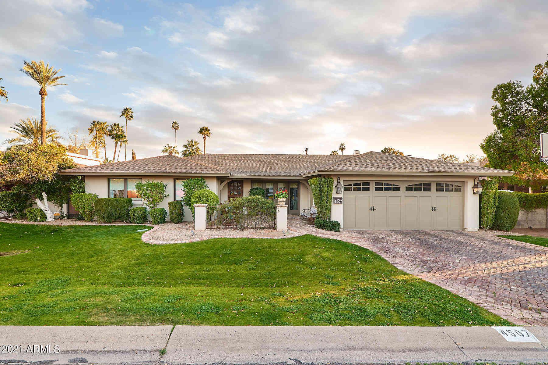 4507 E Cheery Lynn Road, Phoenix, AZ, 85018,