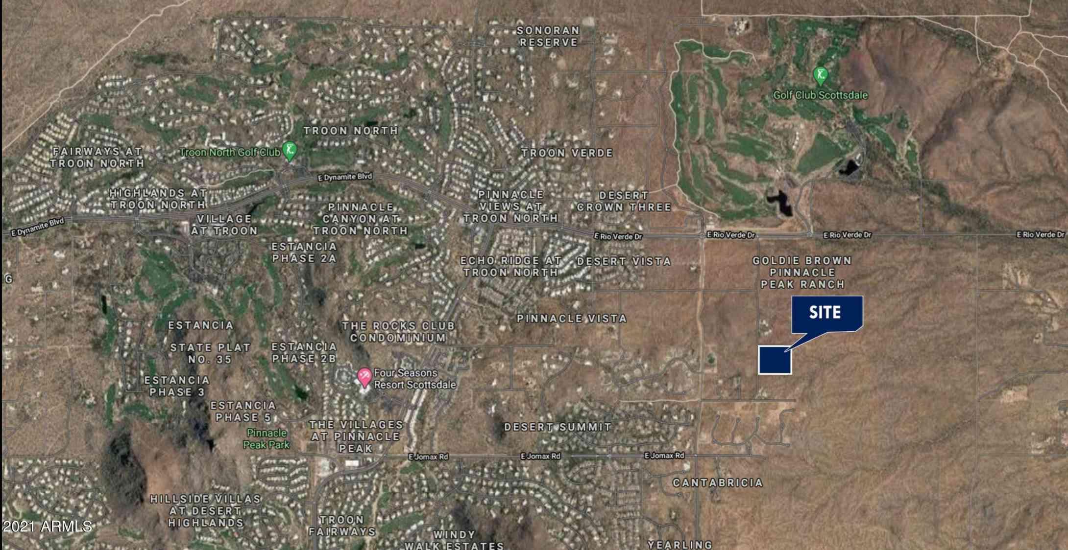 0 120TH ST & PINNACLE VISTA DR -- #14, Scottsdale, AZ, 85262,