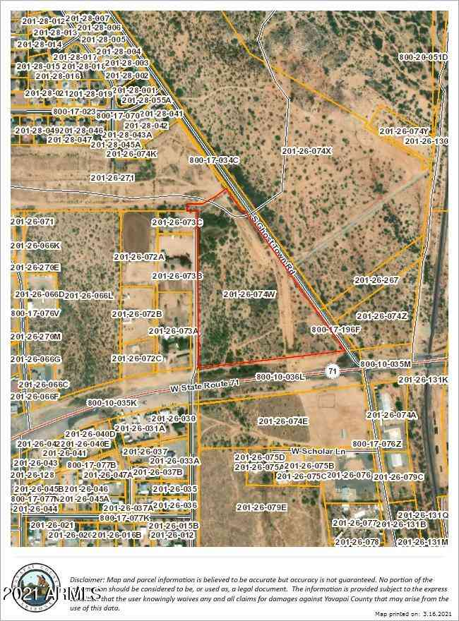 0 S Ghost Town Road #0, Congress, AZ, 85332,