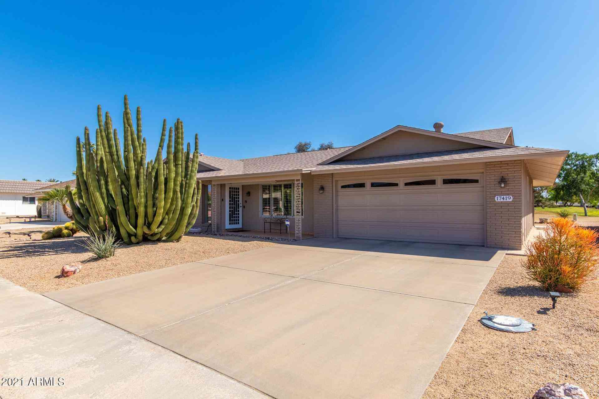 17419 N Lindgren Avenue, Sun City, AZ, 85373,