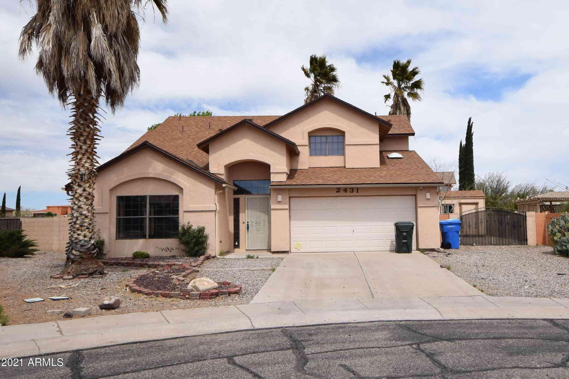 2431 S SUN CREST Drive, Sierra Vista, AZ, 85650,