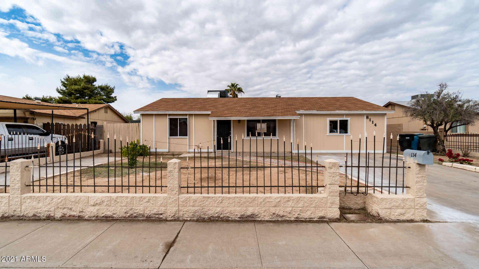 8114 W HAZELWOOD Street, Phoenix, AZ, 85033,