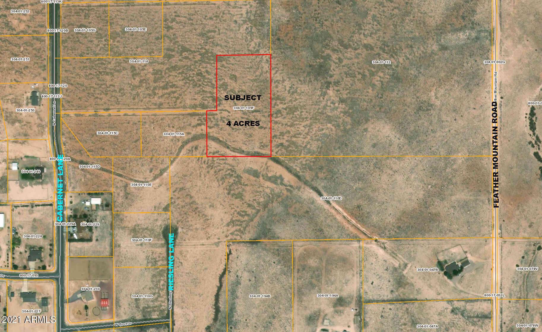 0000 N CABERNET  (NO ADDRESS) Land #-, Paulden, AZ, 86334,