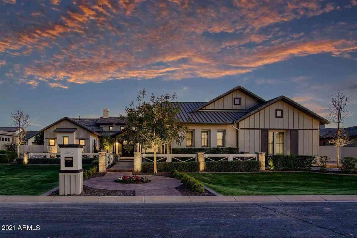 2645 E HUMMINGBIRD Way, Gilbert, AZ, 85297,