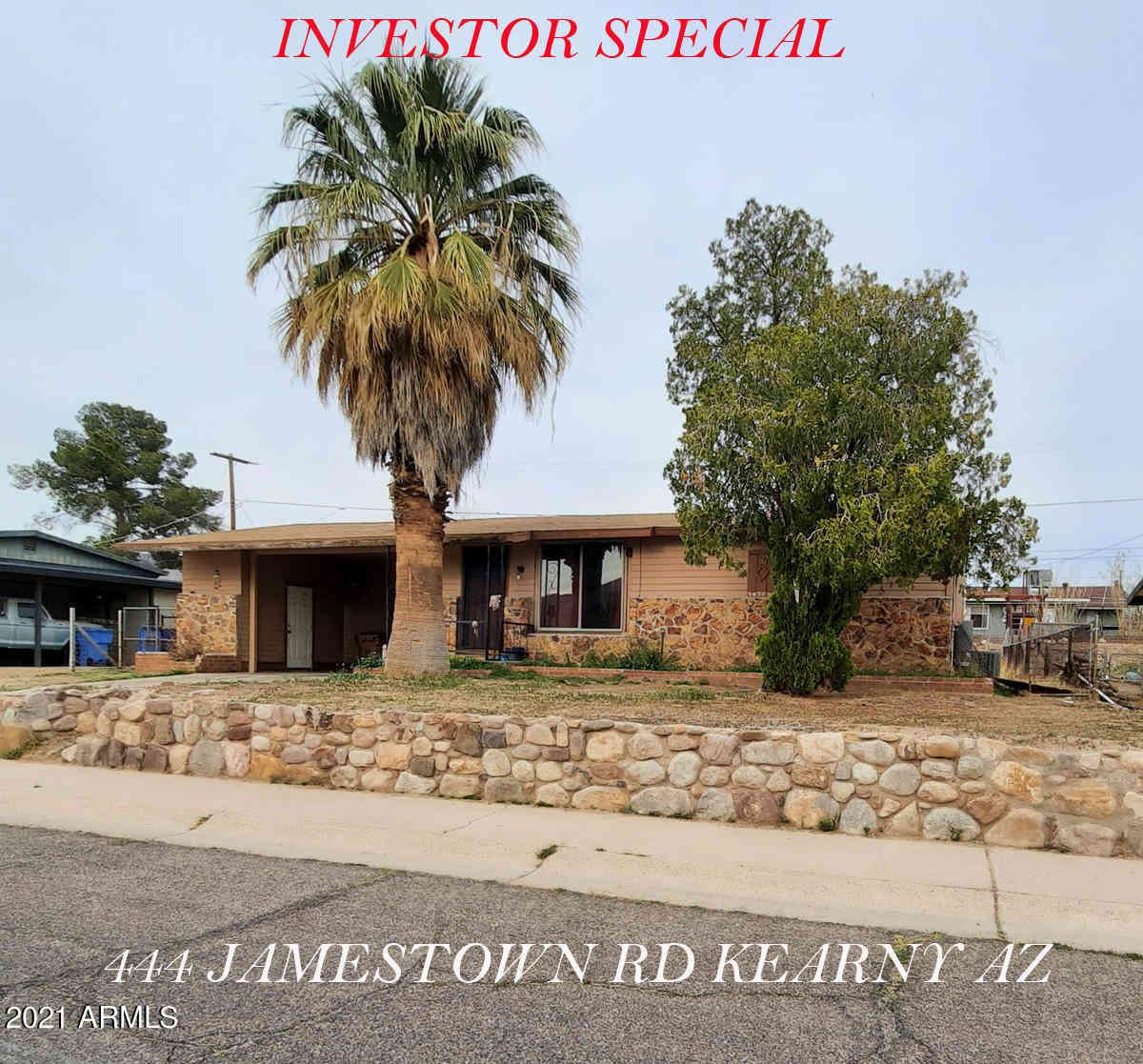 444 W Jamestown Road, Kearny, AZ, 85137,