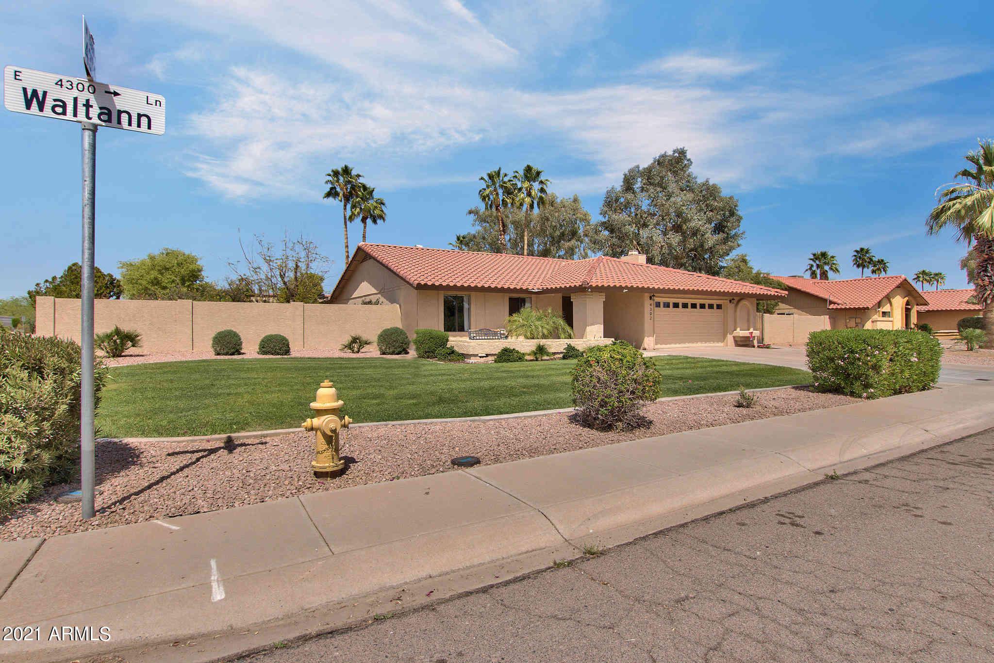 4302 E WALTANN Lane, Phoenix, AZ, 85032,