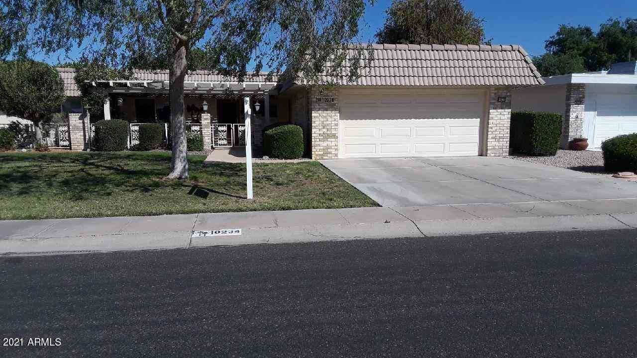 10234 W HIGHWOOD Lane, Sun City, AZ, 85373,