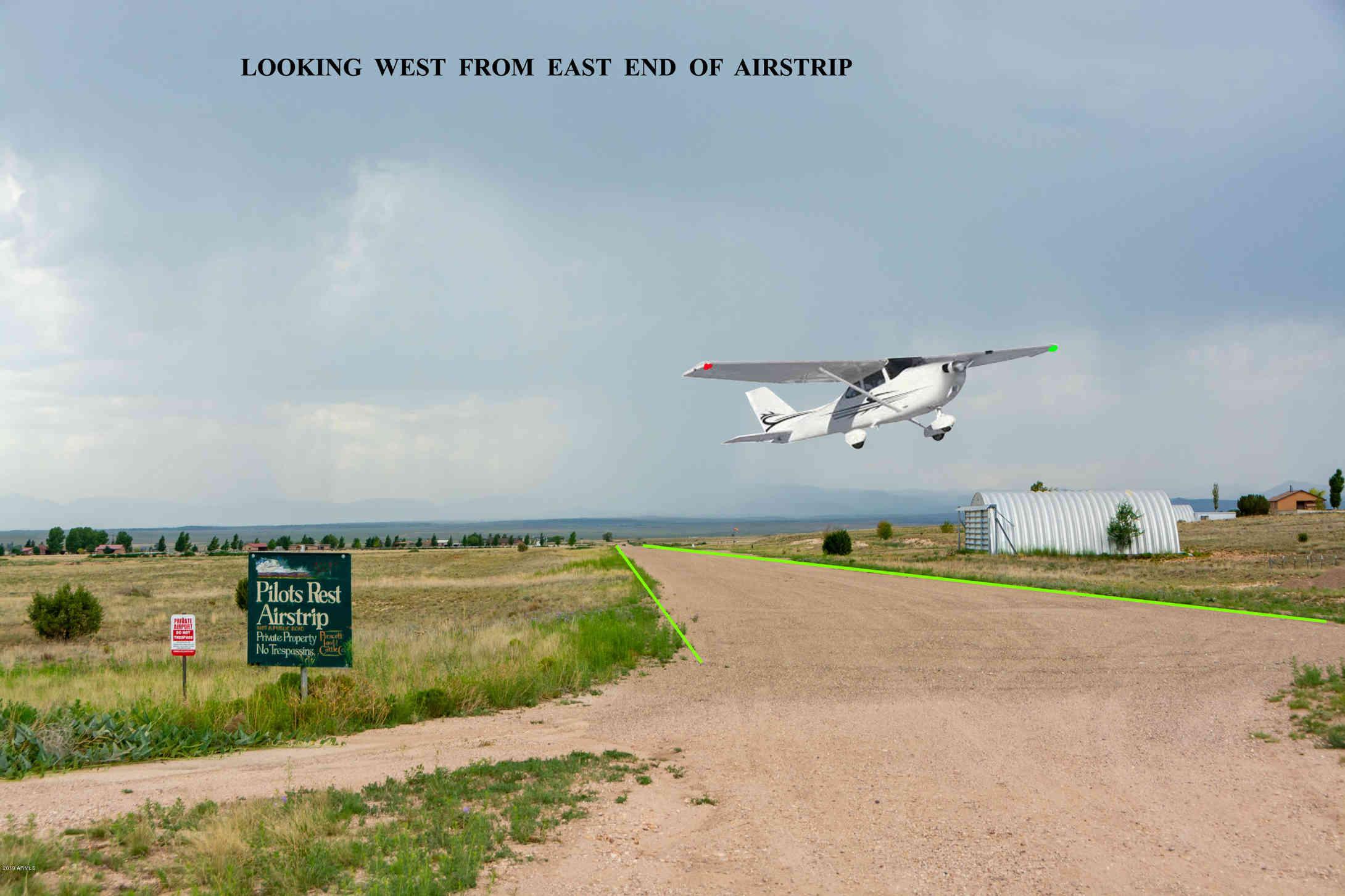 10 ACRES E PILOT'S REST AIRSTRIP(LOT 3) -- #-, Paulden, AZ, 86334,