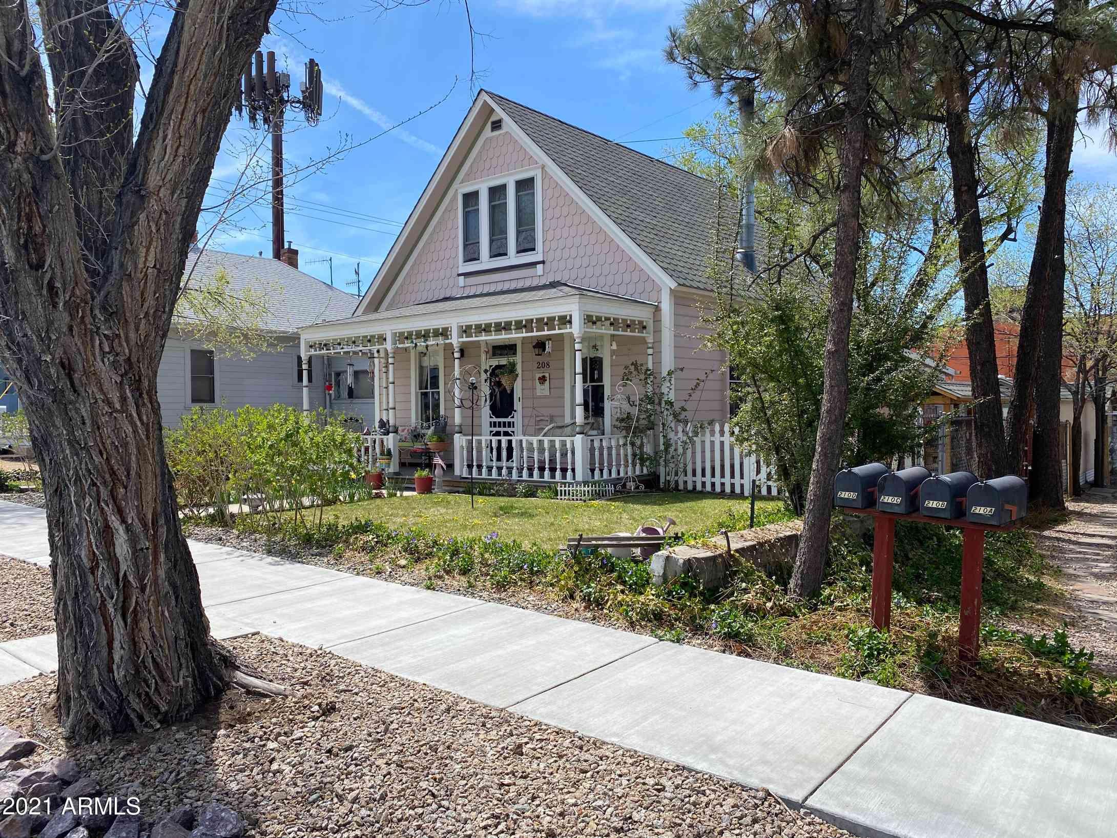 208 N ALARCON Street, Prescott, AZ, 86301,