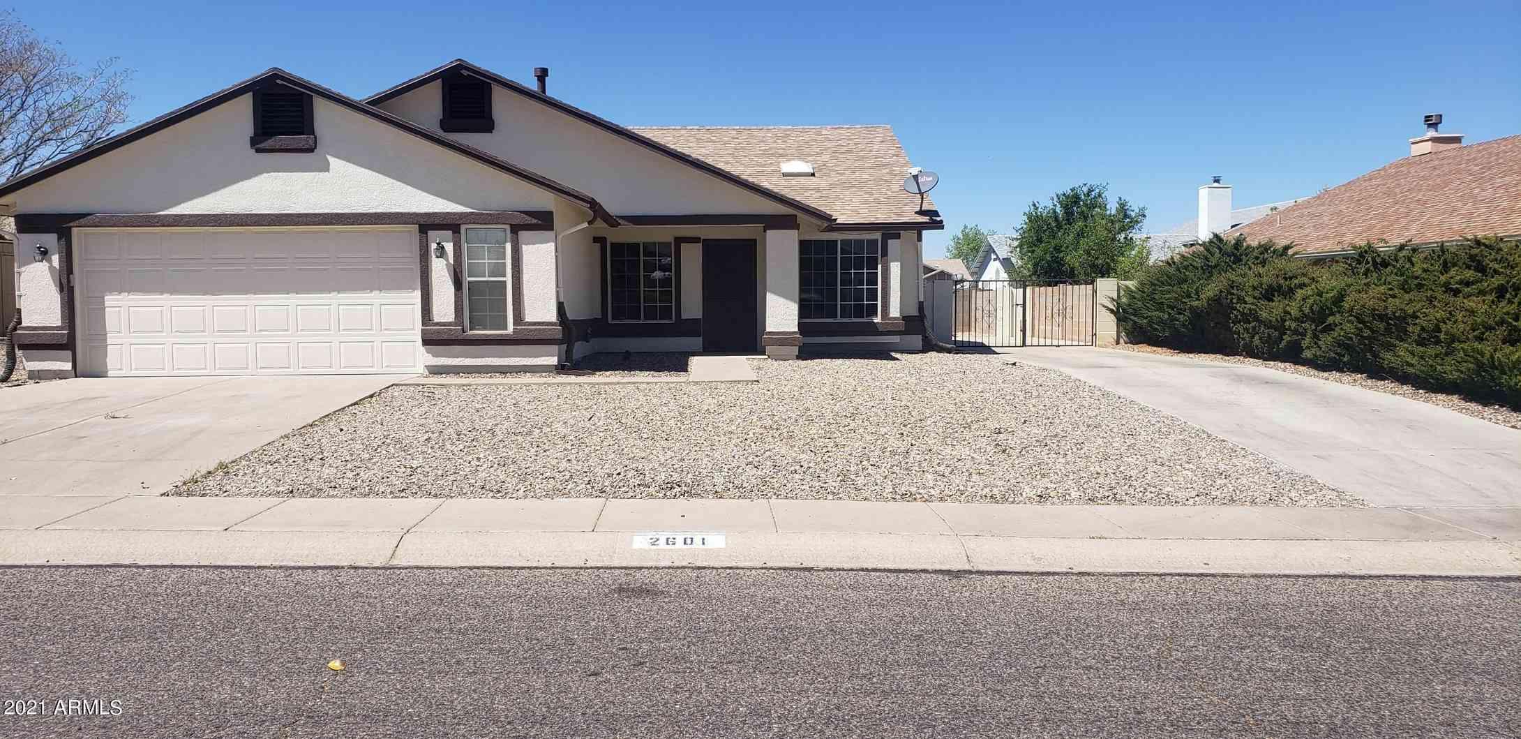 2601 RAVEN Drive, Sierra Vista, AZ, 85650,