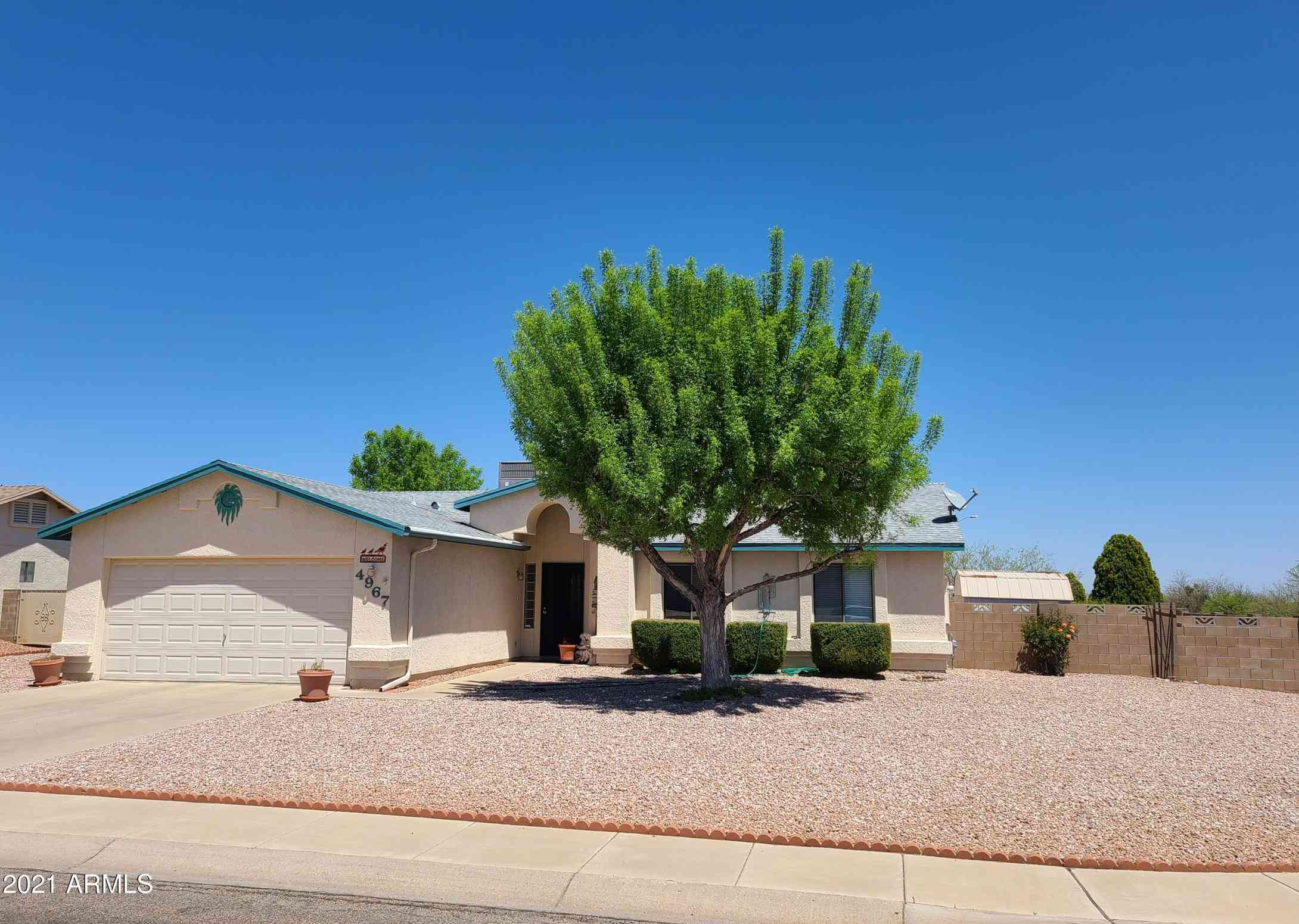 4967 LOS REYES Drive, Sierra Vista, AZ, 85635,