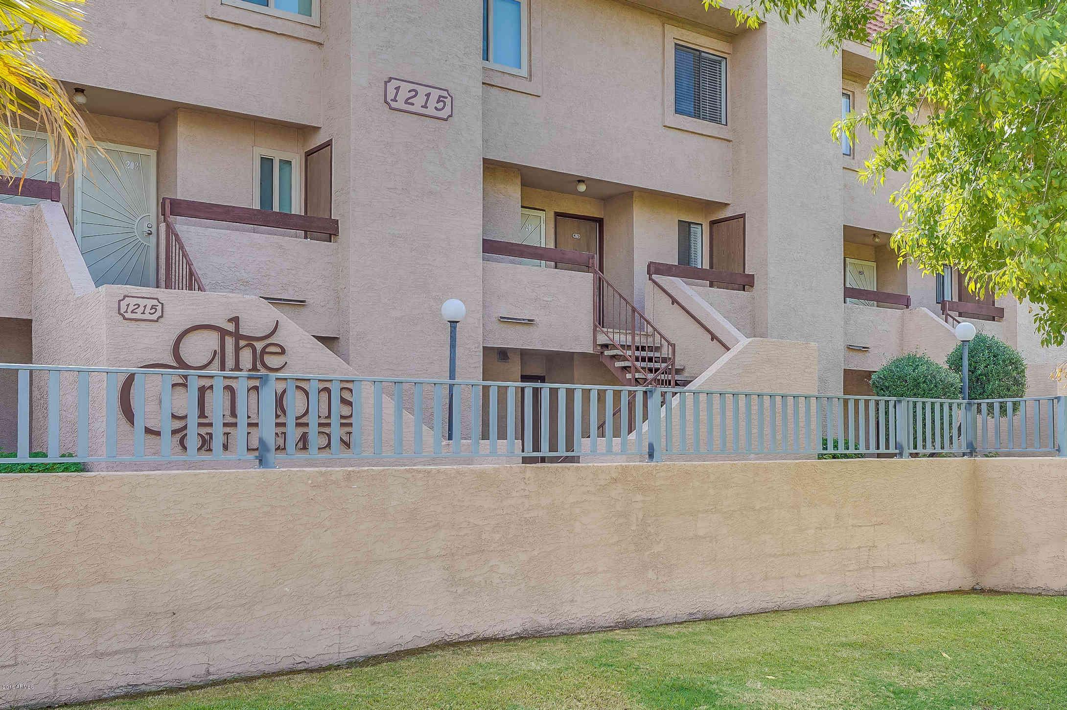 1215 E Lemon Street #204, Tempe, AZ, 85281,