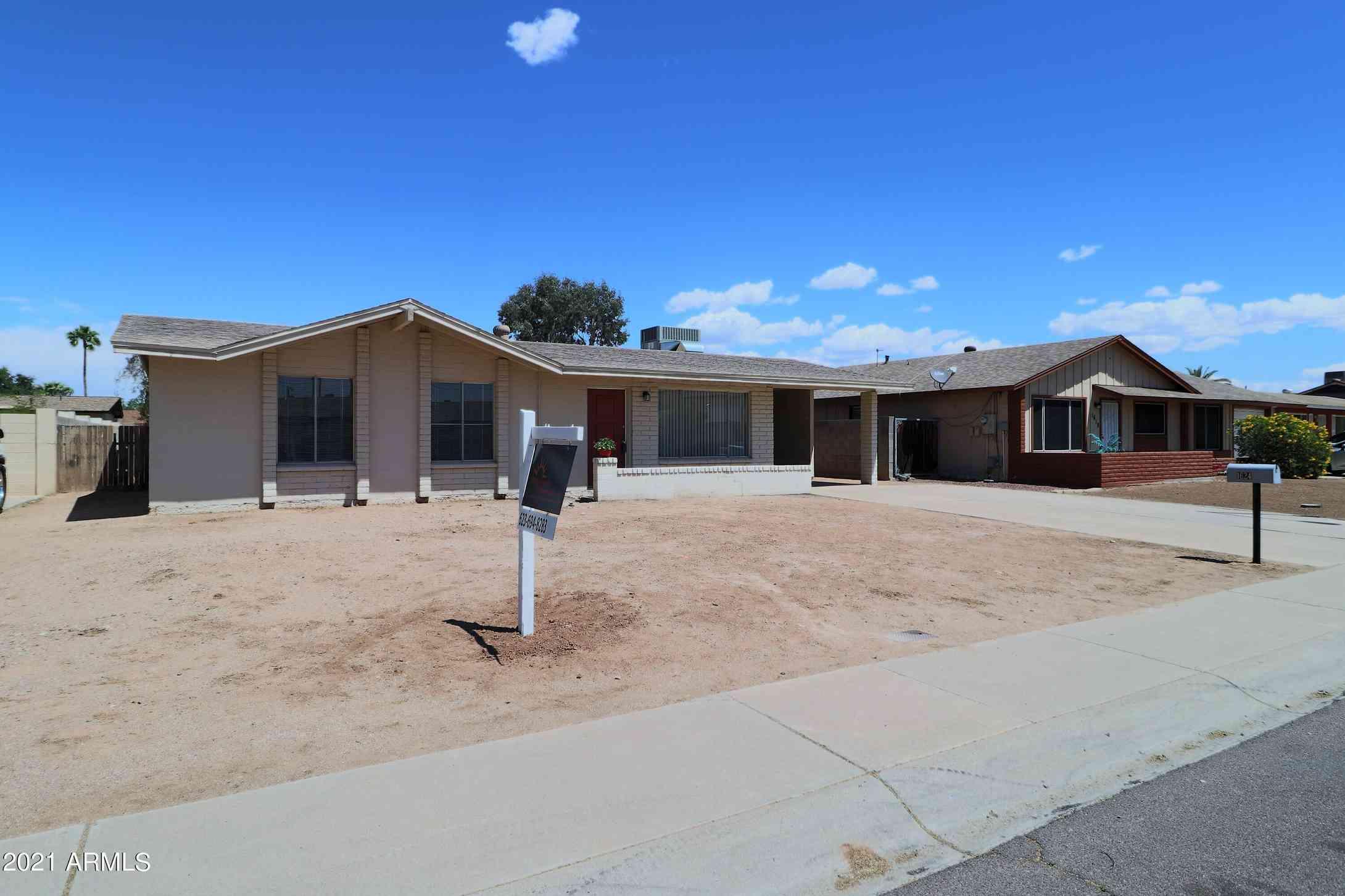 1624 W BEHREND Drive, Phoenix, AZ, 85027,