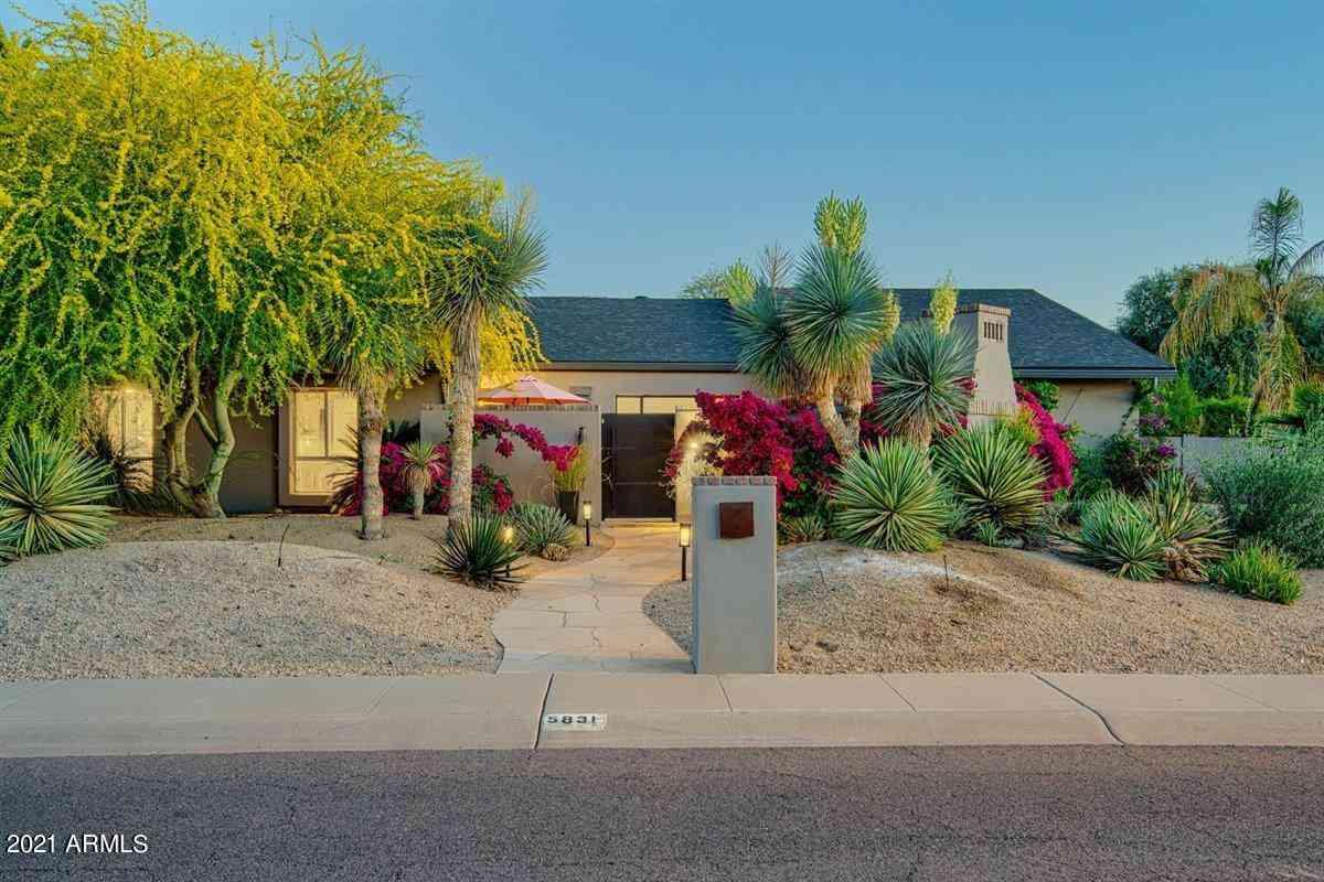 5831 E CHARTER OAK Road, Scottsdale, AZ, 85254,