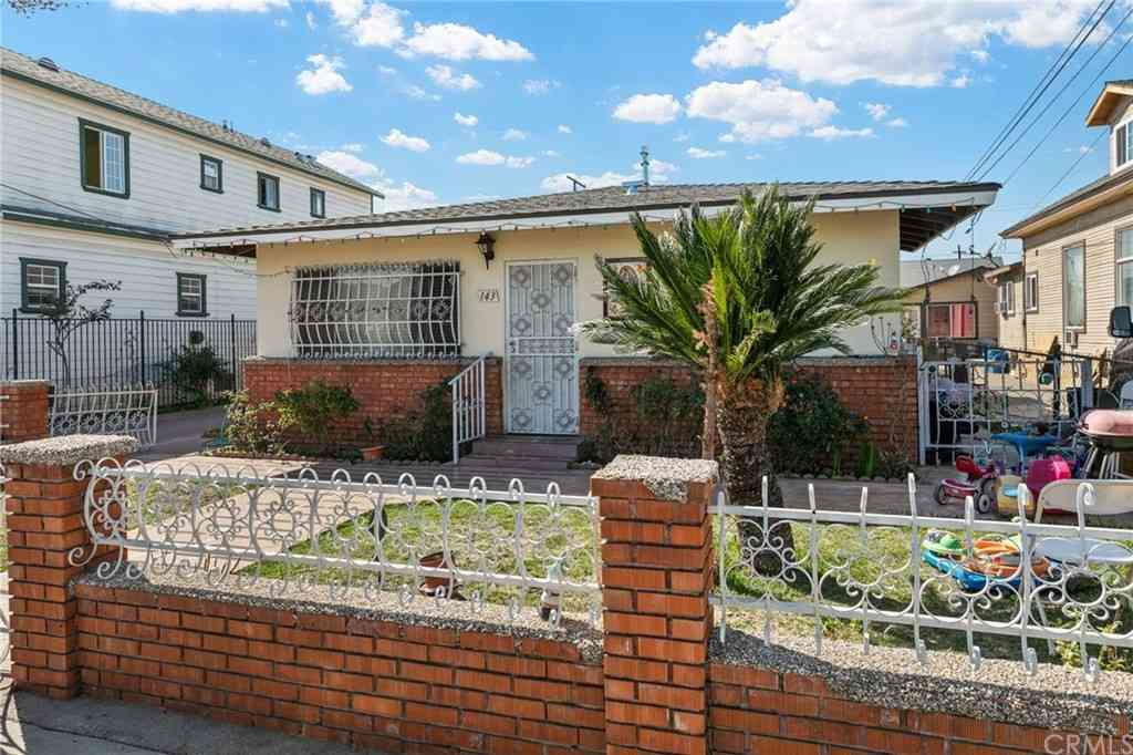 145 S Townsend Avenue, East Los Angeles, CA, 90063,