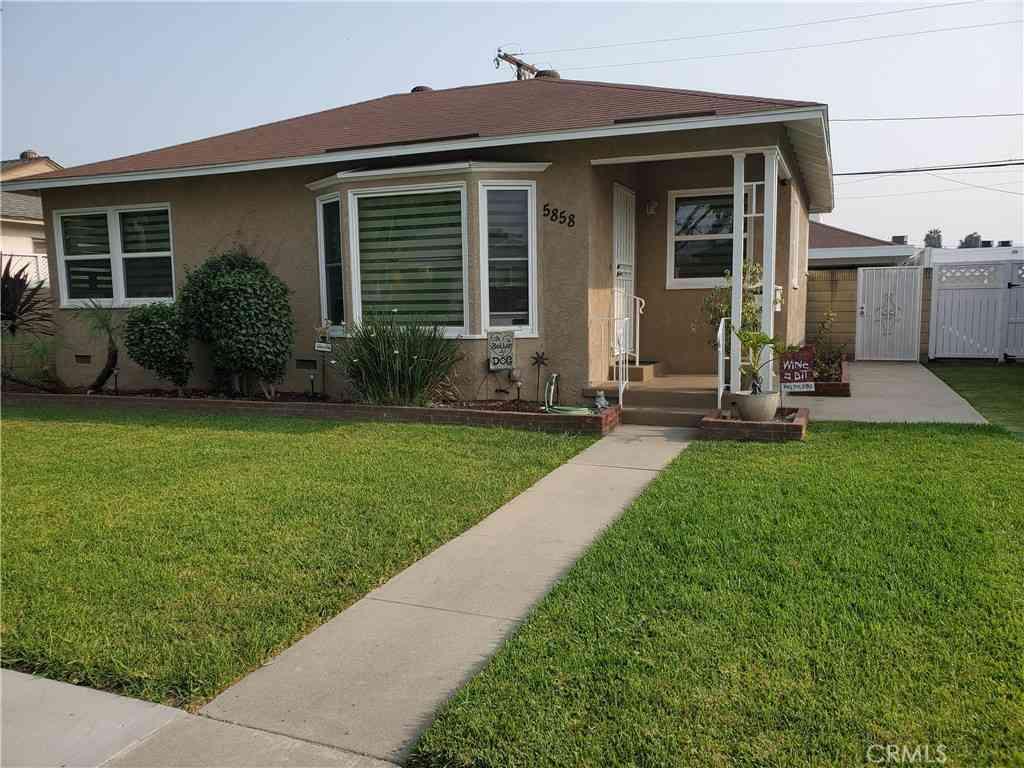 5858 Eckleson Street, Lakewood, CA, 90713,