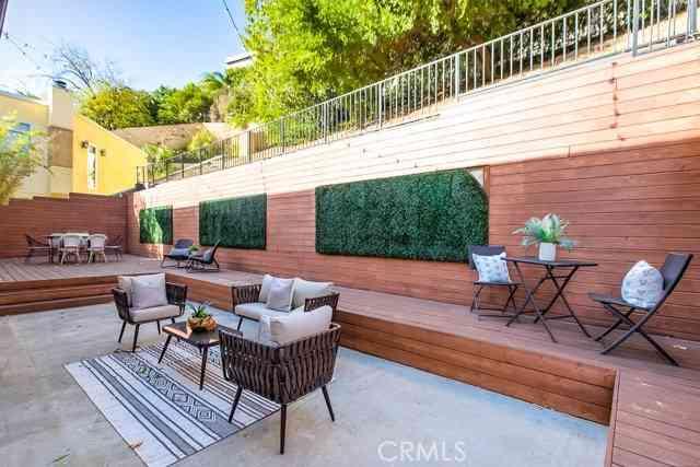 Sunny Living Room, 3763 Prestwick Drive, Los Angeles, CA, 90027,