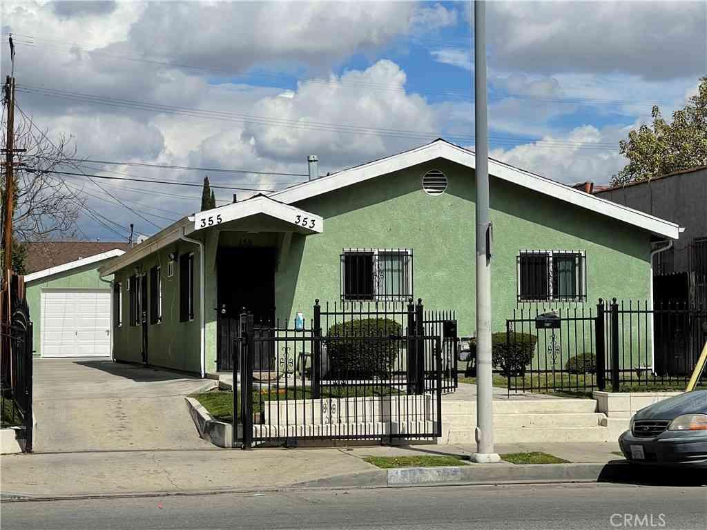 355 E Gage Avenue, Los Angeles, CA, 90003,