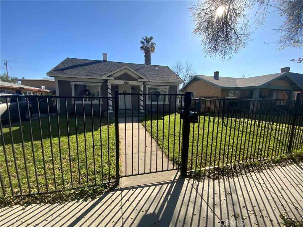 563 W 21 st Street, San Bernardino, CA, 92405,