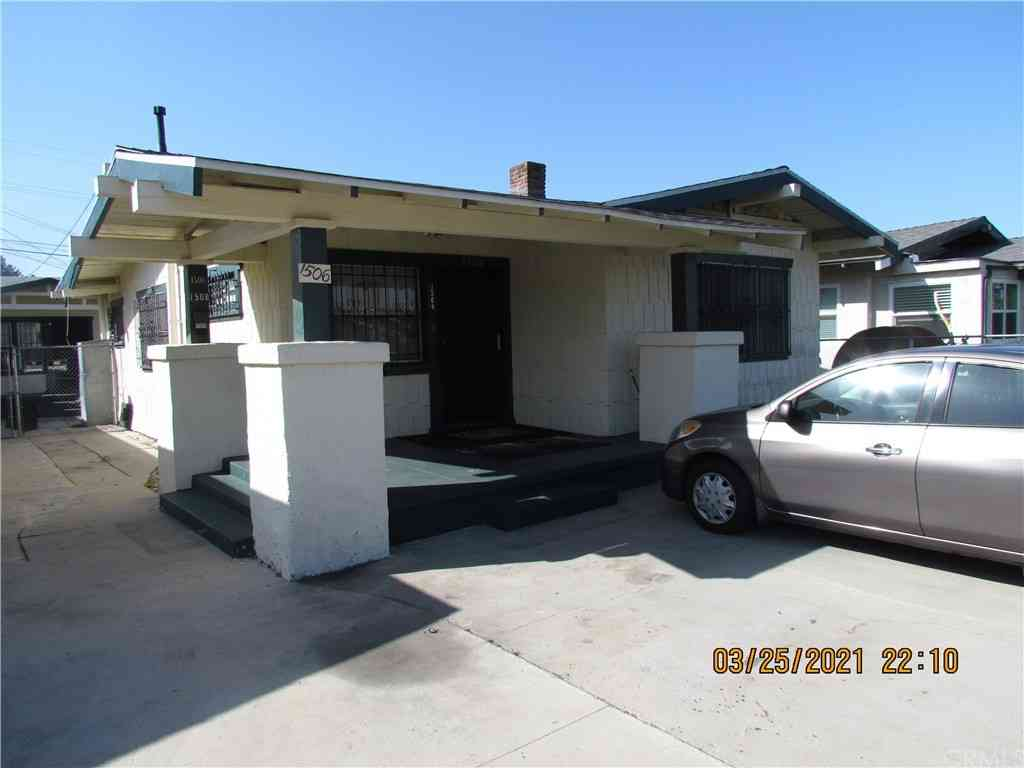 1506 W 56th Street, Los Angeles, CA, 90062,
