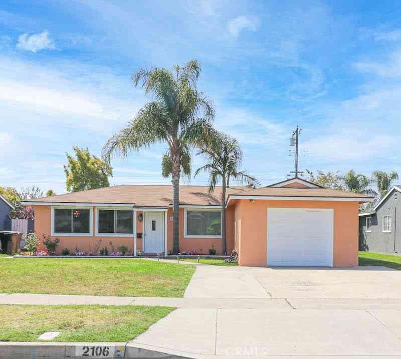 2106 W Flower Avenue, Fullerton, CA, 92833,