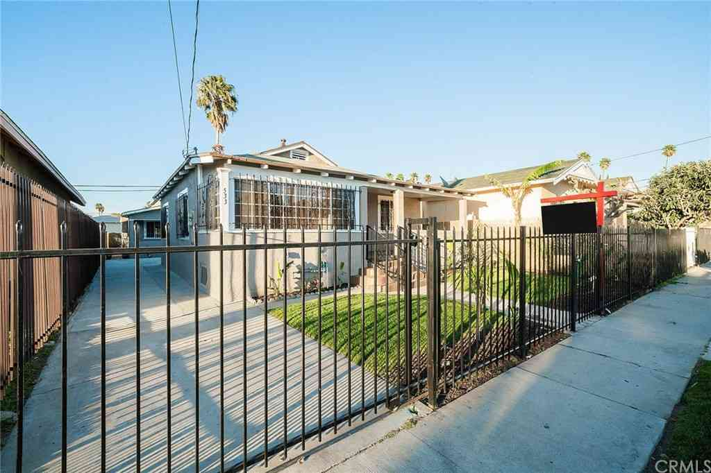 533 W 58th Street, Los Angeles, CA, 90037,