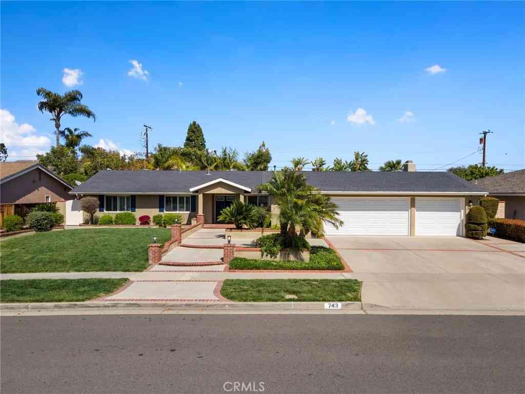 743 El Mirador Drive, Fullerton, CA, 92835,