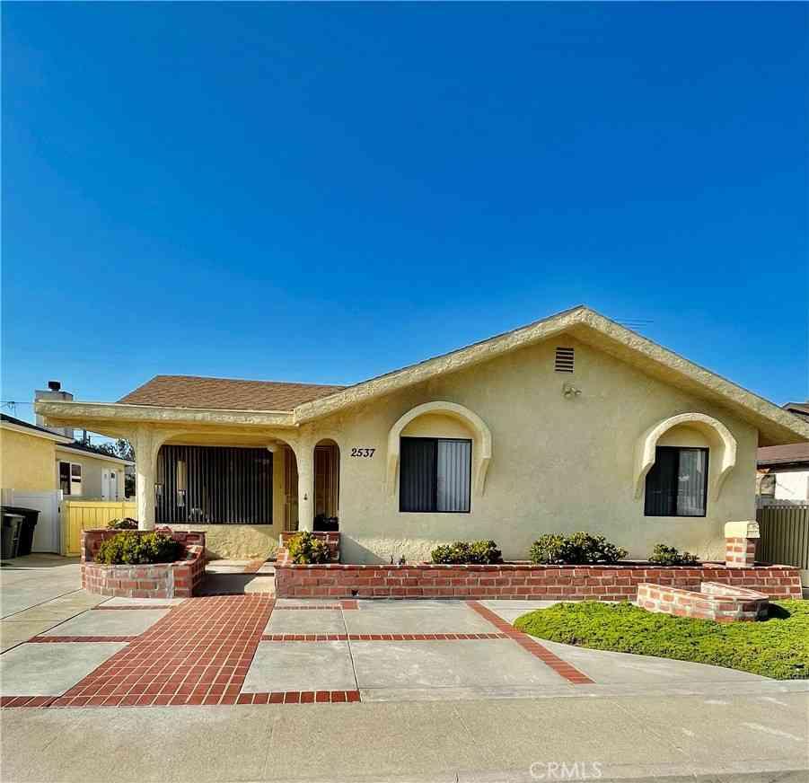 2537 Sierra Street, Torrance, CA, 90503,