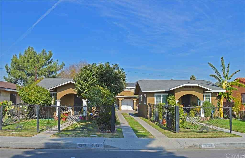 4819 E 60th Place, Maywood, CA, 90270,