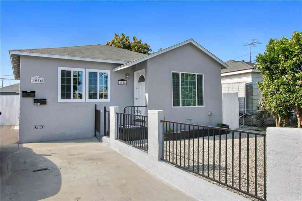 4058 W 164th Street, Lawndale, CA, 90260,