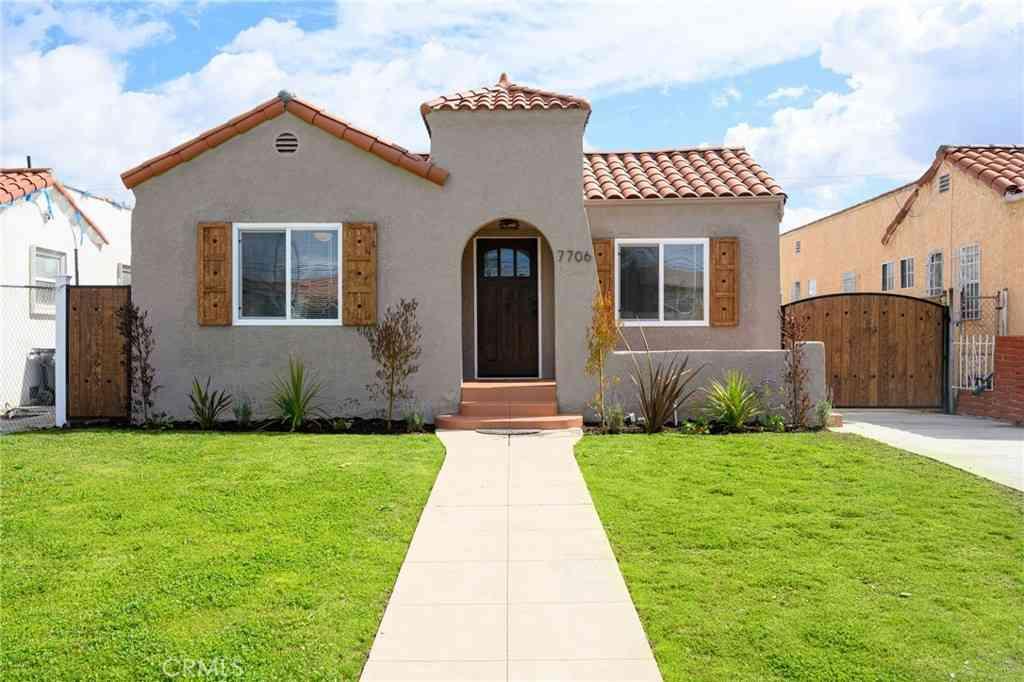 7706 S Hobart Boulevard, Los Angeles, CA, 90047,
