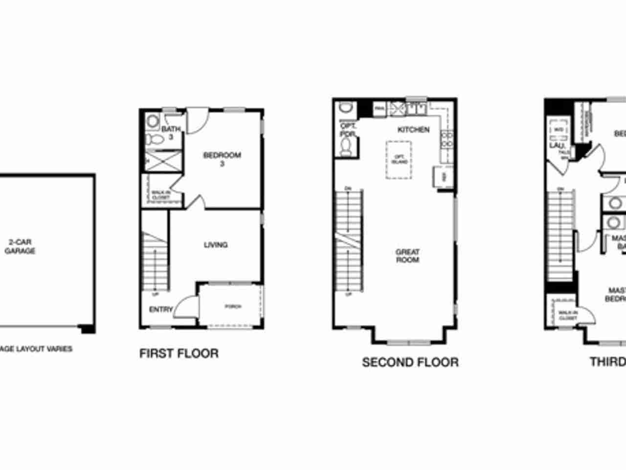 Floor Plan, 2661 Bantry Court South San Francisco, CA, 94080