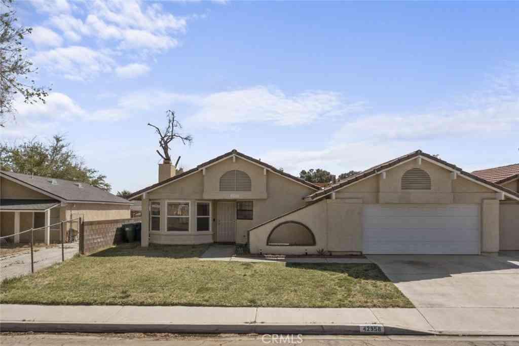 42958 39th Street W, Lancaster, CA, 93536,