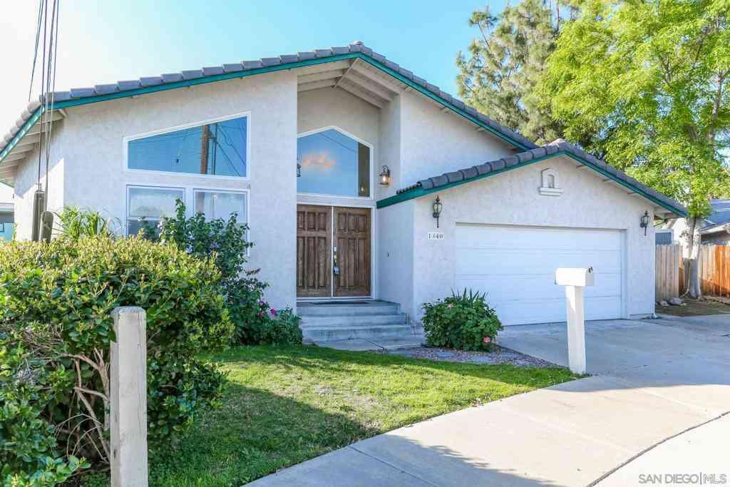 1340 Bluebird St, El Cajon, CA, 92020,