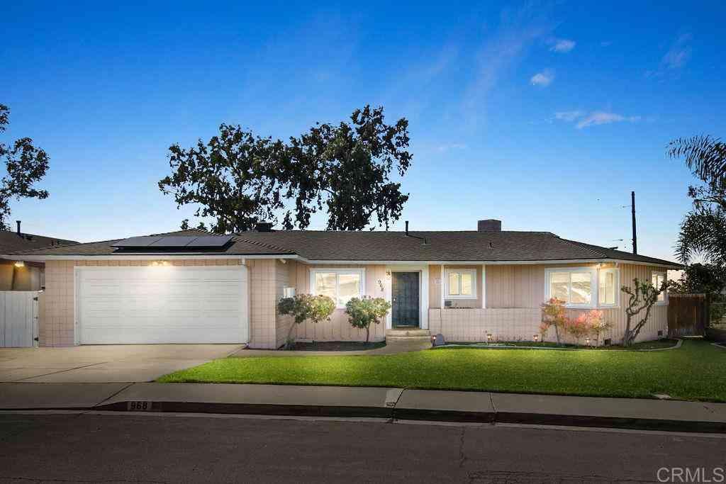 968 Corte Maria Avenue, Chula Vista, CA, 91911,
