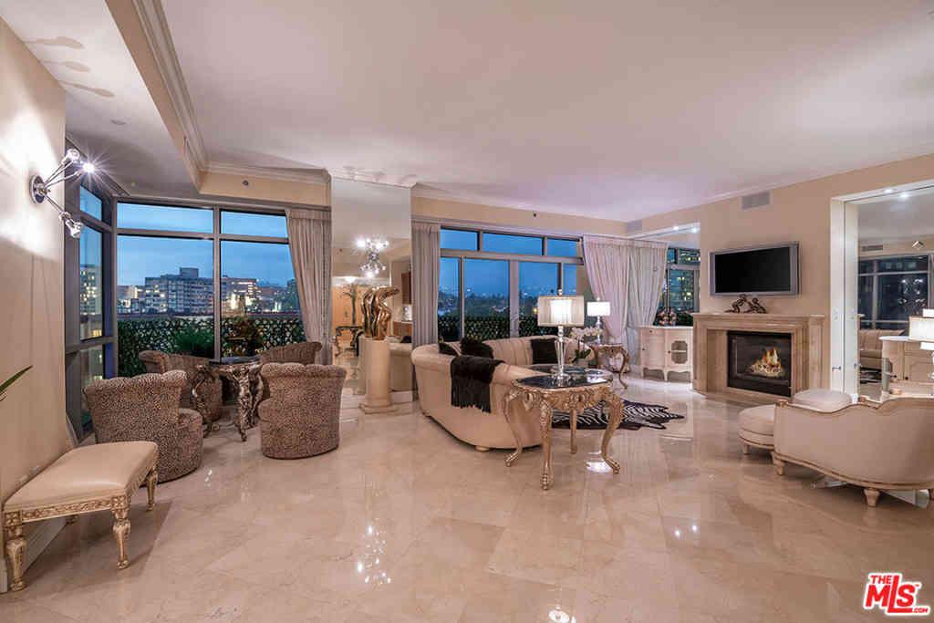 Sunny Living Room, 10800 Wilshire Boulevard #601, Los Angeles, CA, 90024,