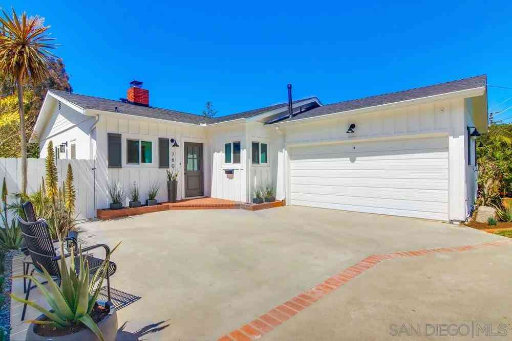780 Loma Valley Road, San Diego, CA, 92106,