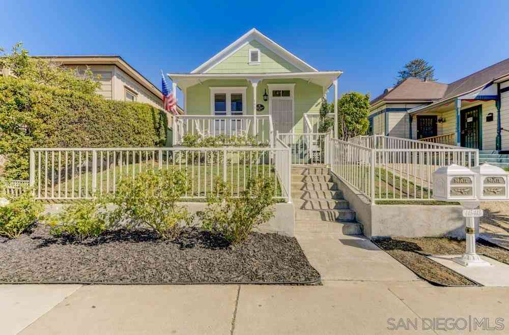 443 19th, San Diego, CA, 92102,