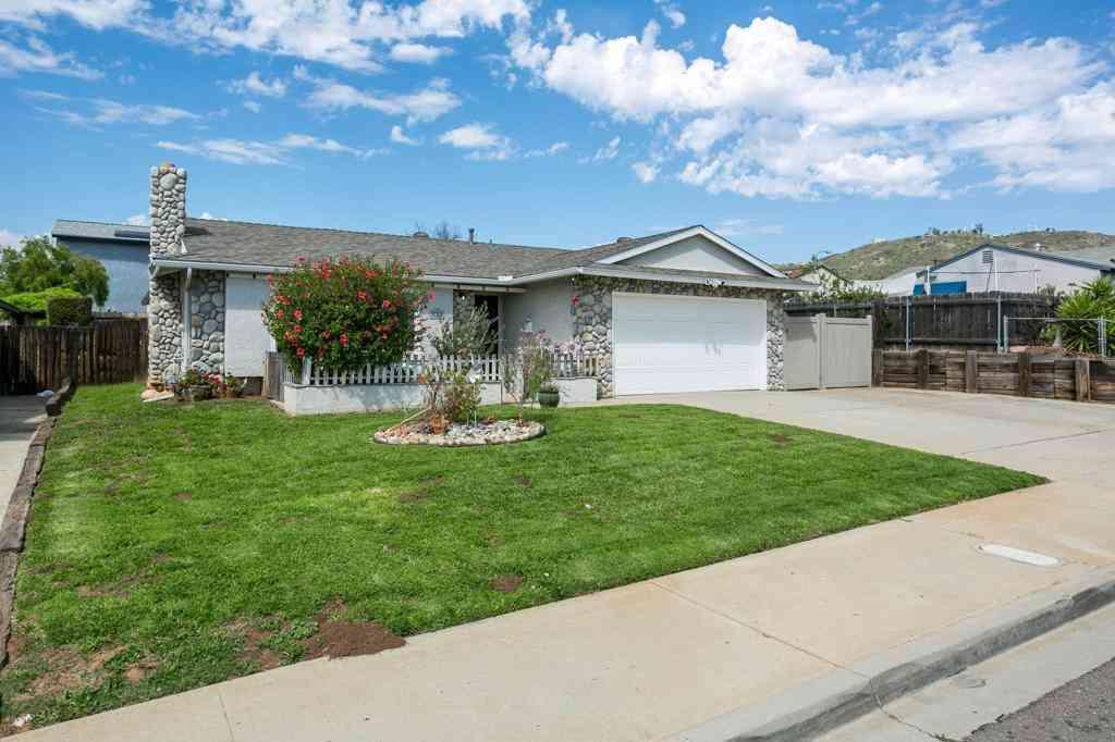 538 Danny St, El Cajon, CA, 92021,